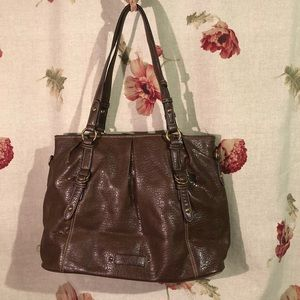 Nine West Brown Hobo Bag with extra straps